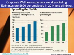 spending on wellness plans
